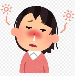 花粉症が原因の鼻づまり画像