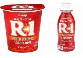 花粉症に効くR-1ヨーグルト画像