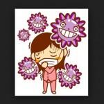 インフルエンザの夏の症状や感染対策予防は?