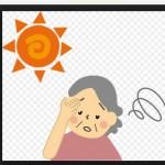 熱中症の症状は頭痛や熱?高齢者は?嘔吐や胃痛や動悸や眠気は?