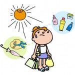 紫外線アレルギー日焼け止めおすすめは?湿疹や食べ物や病院検査は?